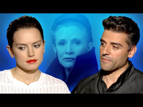 Star Wars Cast Shares Favorite Carrie Fisher Memory - The Last Jedi Interview - UCKy1dAqELo0zrOtPkf0eTMw