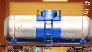 Gordon UTTP gets run over by a train