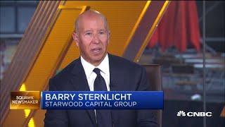 Economy will eventually slow down, says Starwood's Sternlicht
