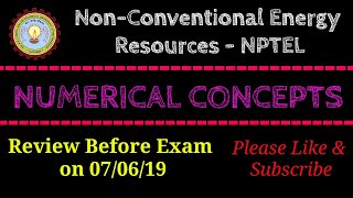 NCER-NPTEL | Numerical Concepts | Simple Formulas