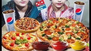 Pizza Party - Cheesy Pepperoni, Spicy, Chilli chicken Pizza - Domino's