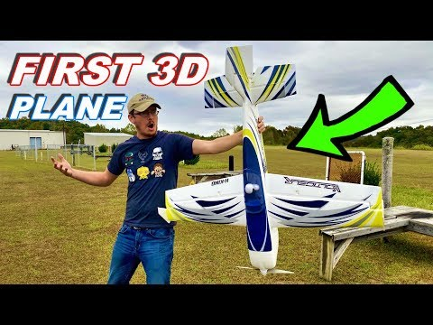 Will He Crash First 3D Acrobatic RC Plane?!?! - H-King Voltigeur - TheRcSaylors - UCYWhRC3xtD_acDIZdr53huA