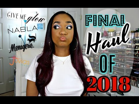 💕 FINAL HAUL of 2018 💕 Indie Brands in ALL THEIR GLORY!!! + PR Stuff! - UCPWE8QVTHPLqYaCOuqWNvIw