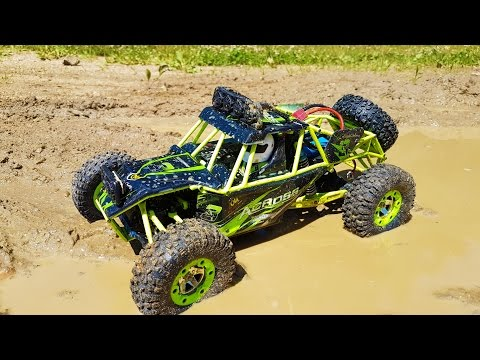AMAZING  RC 4WD test ride! Gearbest WLtoys 1/12 Scale Off Road Vehicle - UCK3h46NBJaAE0vNovTadDfQ