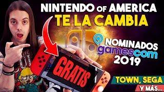 ¡NINTENDO CAMBIA SWITCH original por la NUEVA GRATIS! | NOMINADOS Gamescom 2019 | Town - Sega