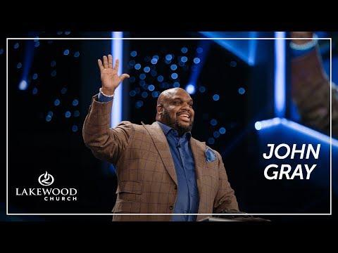 Lakewood Church Saturday 7pm Service with John Gray