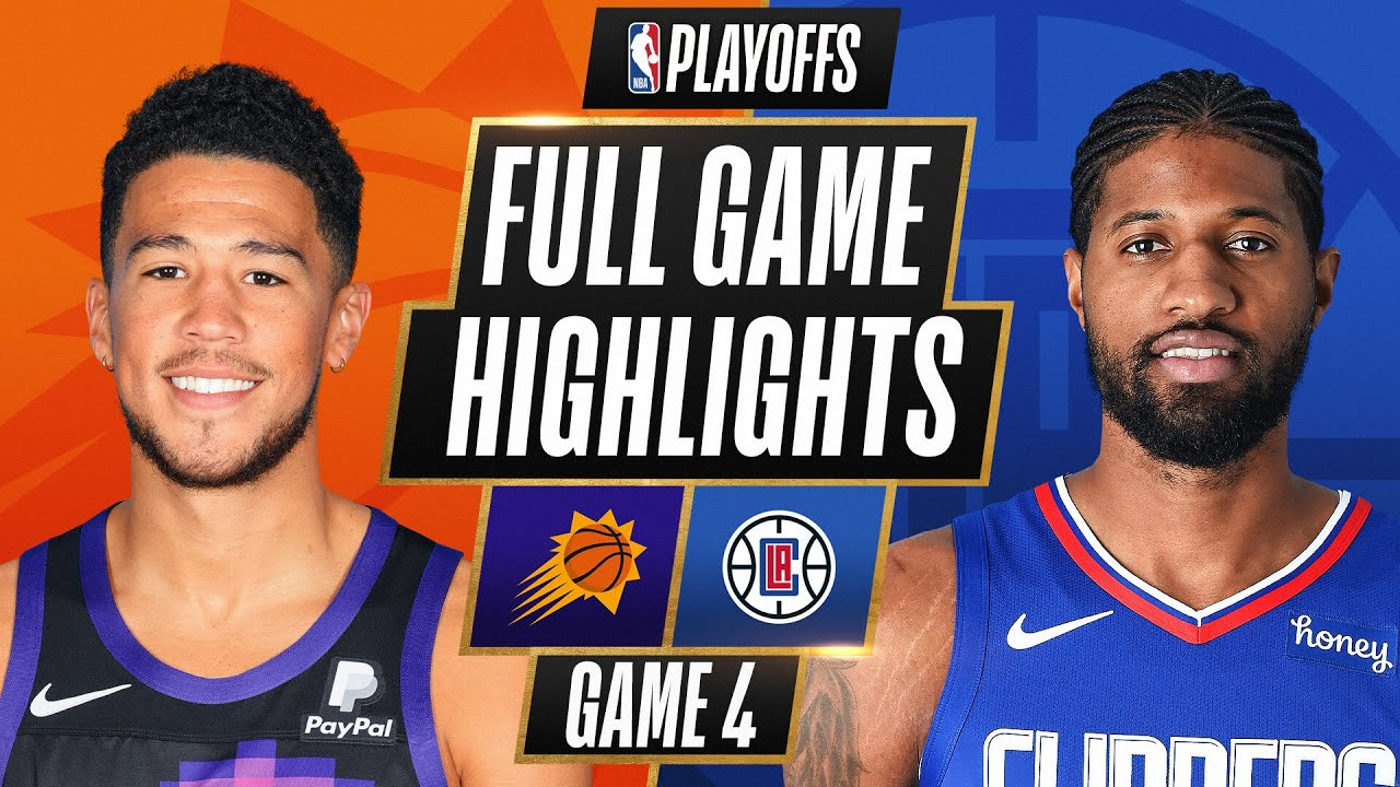 #2 SUNS at #4 CLIPPERS | FULL GAME HIGHLIGHTS | June 26, 2021