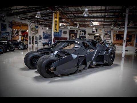 Batman's Tumbler - Jay Leno's Garage - UCQMELFlXQL38KPm8kM-4Adg