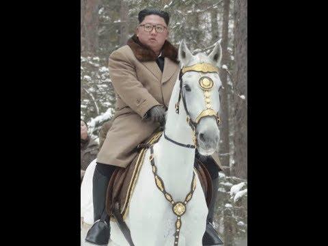 Breaking White Horse Rider Kim Jong Un