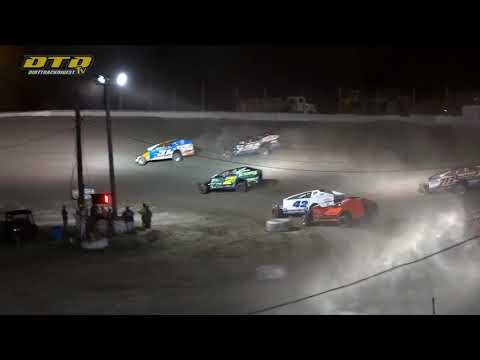 Thunder Mountain Speedway   DIRTcar 358-Modified Highlights   6/26/21 - dirt track racing video image