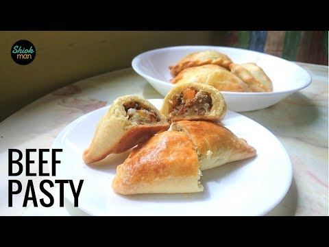 How to make Pasty (Baked Pastry Puff) with beef filling