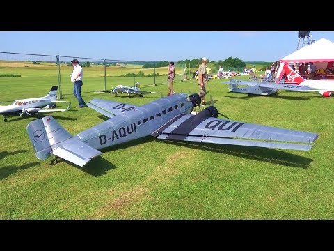BIGGEST RC AIRPLANE JUNKERS JU-52 TERRIBLE END - UCTLEcIaYJEbUEzQc3-ZvruQ