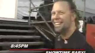 A Day In The Life Of James Hetfield