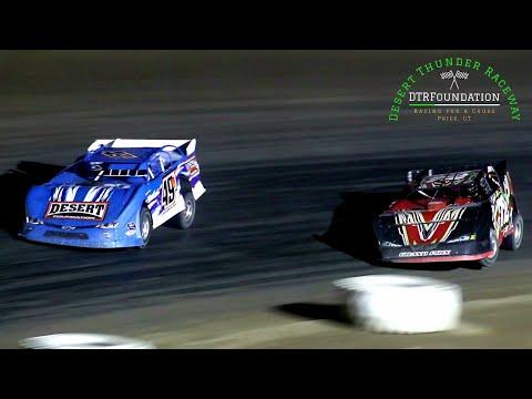 Desert Thunder Raceway Late Model Main Event 8/27/21 - dirt track racing video image