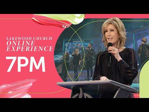 Lakewood Church Service  Lisa Osteen Comes  Sunday 7pm
