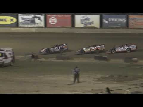 Florence Speedway | 7/24/21 | Crate Late Models | Feature - dirt track racing video image