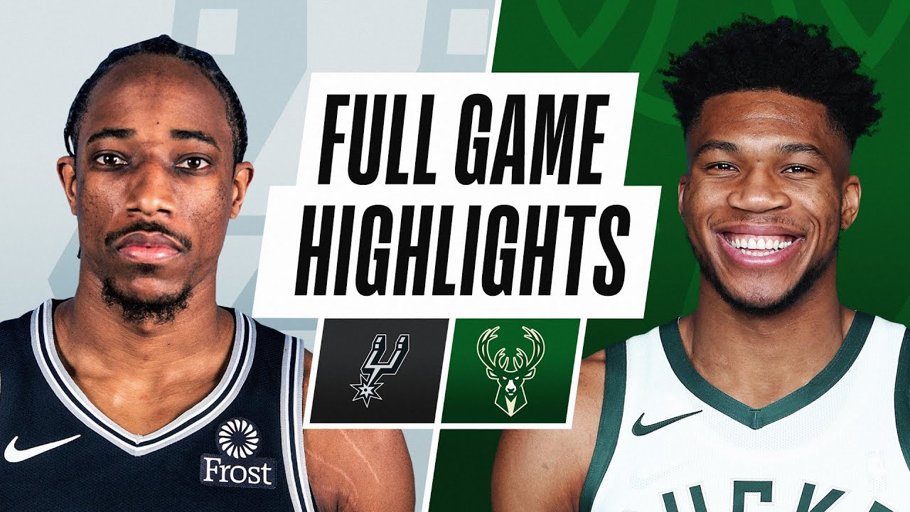 SPURS at BUCKS | FULL GAME HIGHLIGHTS | March 20, 2021