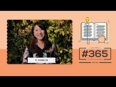 #365 Monthly Overview - April 2021  Ps. Deborah Qiu  Cornerstone Community Church  CSCC Online