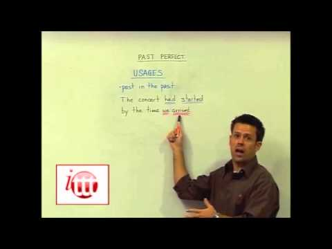 English Grammar - Past Perfect - Usage - Online Teaching Course