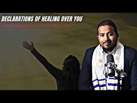 DECLARATIONS OF COMPLETE HEALING OVER YOU WITH EVANGELIST GABRIEL FERNANDES