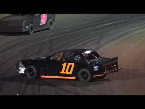 10/16/21 Road Warrior Feature Race - 24th and Final Showdown in Savannah, Oglethorpe Speedway Park - dirt track racing video image