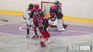 Minor Lacrosse (Novice One) - Guelph Regals vs K-W Braves