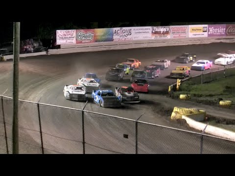 Hobby Stocks ($2,500 to Win) - Volusia Speedway Park 5-21-16 - dirt track racing video image