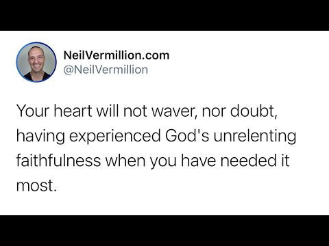 Your Heart Will Rest And Remain Secure - Daily Prophetic Word