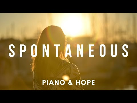 SPONTANEOUS // LOOKING AT HIS FACE // PIANO & HOPE // Instrumental Worship Soaking in His Presence