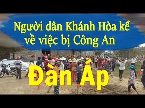 Người dân Ninh Hòa (Khánh Hòa) nói về việc công an đàn áp