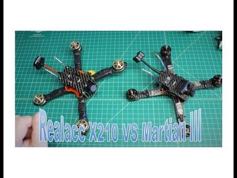 Realacc X210 vs Martian III 3 FPV Racing Frame Comparison Which Should You Buy - UCGqO79grPPEEyHGhEQQzYrw
