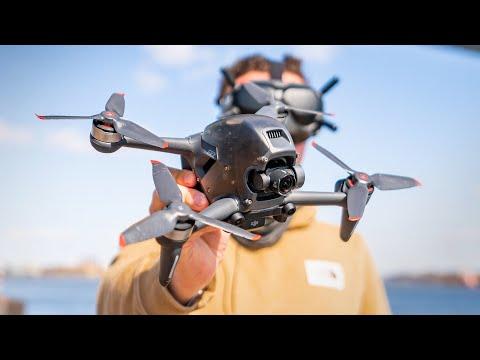 DJI FPV Drone Full Flight & Impressions - UCIExVohZChd5Z40z8uqdz6A