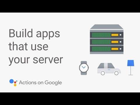 Create an App for the Google Assistant that Uses Your Server - UC_x5XG1OV2P6uZZ5FSM9Ttw