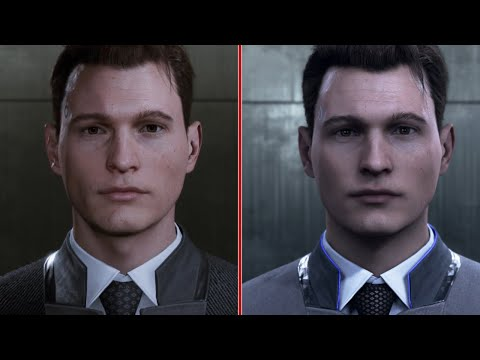 Detroit: Become Human - E3 2016 vs. 2018 Demo Graphics Comparison - UCKy1dAqELo0zrOtPkf0eTMw