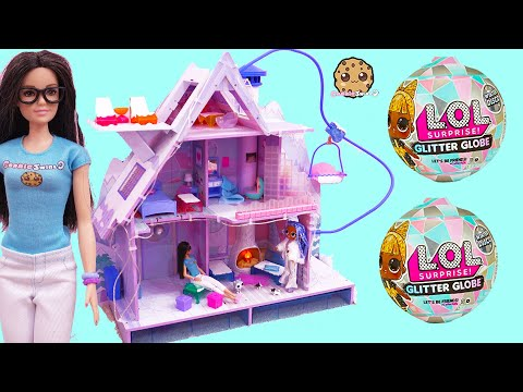 Cookie Barbie + Blind Bags at OMG LOL Surprise Winter Disco Chalet House - UCelMeixAOTs2OQAAi9wU8-g