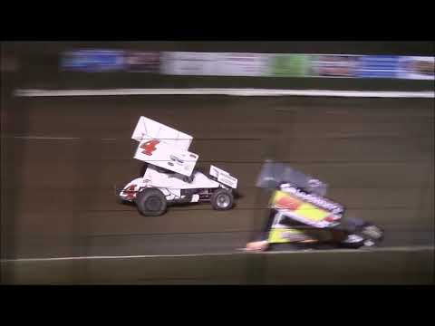 Sprint Car Feature from Atomic Speedway, October 6th, 2018. - dirt track racing video image