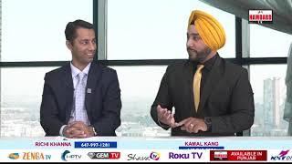 Canada's real estate | Richi Khanna | Kamal Kang | Open House | Hamdard Tv |