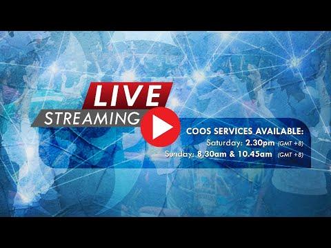 COOS service - LIVE (Sunday 8.30AM)