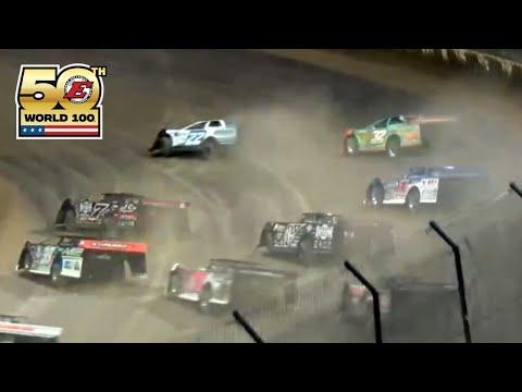 Prelim Night Features | 50th World 100 at Eldora Speedway - dirt track racing video image
