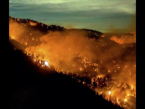 Breaking 5 Largest Wildfires Burning Now California History