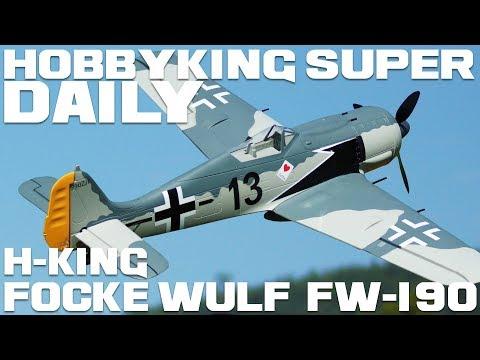 "H-King Focke Wulf FW-190 Butcher Bird EPO 1600mm (63"") PNF - HobbyKing Super Daily - UCkNMDHVq-_6aJEh2uRBbRmw"