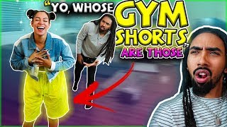 CAUGHT WEARING ANOTHER MANS GYM SHORTS PRANK!! *HILARIOUS*