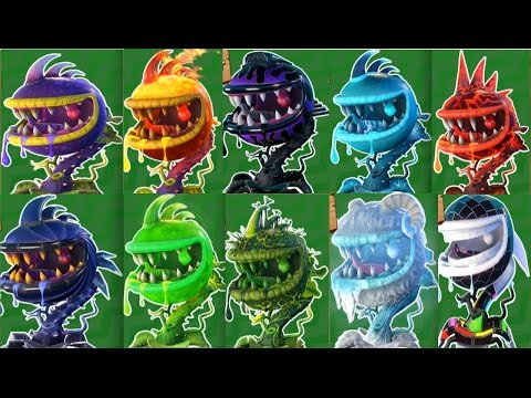 Plants vs Zombies Garden Warfare 2:All 10 Chomper Pvzgw2: Gameplay ...