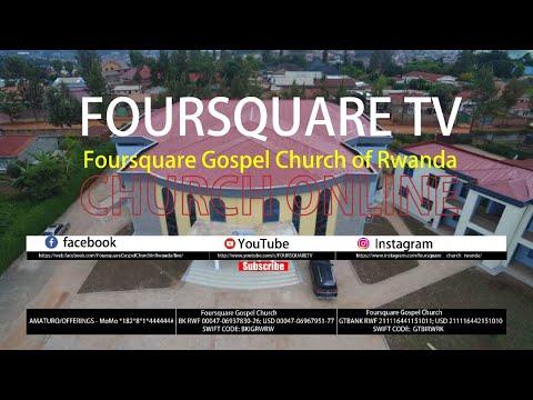 FOURSQUARE TV - AGATATU SERVICE WITH PASTOR CADEAU 24.06.2020