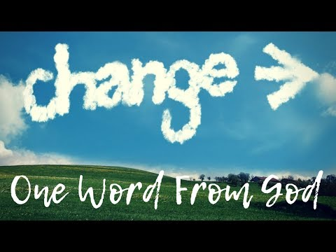 From Weeping To Weaning ~ One Word Will Change Your Life!