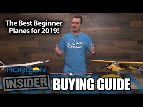 Horizon Insider Buying Guide: Best Beginner Planes for 2019! - UCcrbRHOH2PZZX9x53027LFQ