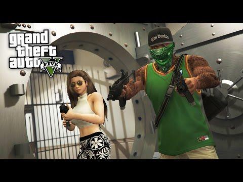 GTA 5 Real Life Thug Mod #32 - PACIFIC BANK HEIST!! (GTA 5 Mods) - UC2wKfjlioOCLP4xQMOWNcgg