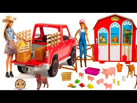 Barbie Sweet Orchard Farm Animal + Truck Sets - Review Video - UCelMeixAOTs2OQAAi9wU8-g