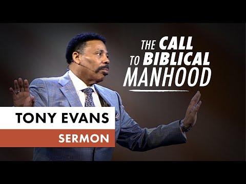 The Call to Biblical Manhood  Sermon by Tony Evans