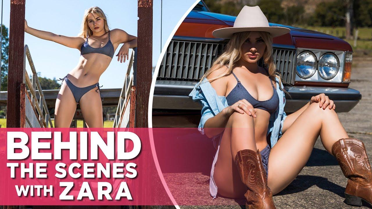 In Her Element: Zara Stirs Up Trouble In Hot Denim Styles